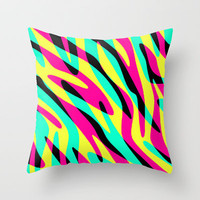 In The Wild Throw Pillow by M Studio