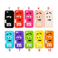 iPhone 4/4S M&M Chocolate Case