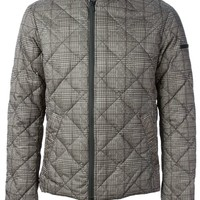 Emporio Armani quilted zipped jacket