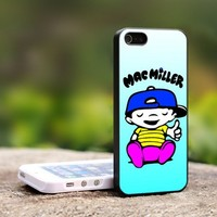 Mac Miller-For iPhone 5 Black Case Cover