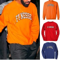 2018 New unisex Tennessee sweater hoodie Finesse Tennessee Sweatshirt Drake New