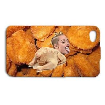 Cute Miley Cyrus Phone Case Funny Chicken Cover iPhone 5 5s 5c 4 4s 6 Plus iPod
