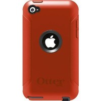 OtterBox Defender Series Case for iPod touch 4G - Orange/Coal