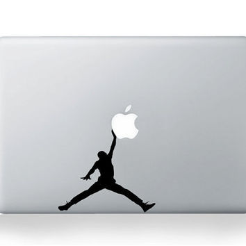 Michael Jordandecals mac sticker mac macbook by AppleParadise