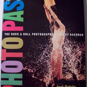 Vintage 1994 Photo Pass Rock & Roll Photography of Randy Bachman - Book by Joel Selvin