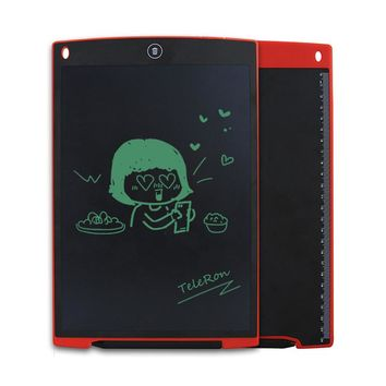 12 Inch LCD Writing Digital Tablets Handwriting Graphic Drawing Pads Portable Electronic Memo Notepads Message Board Kids Gift