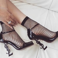 shosouvenir Saint Laurent Pairs 🔺YSL Cusp high-heeled shoes