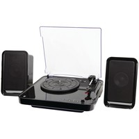Ilive All-in-one Bluetooth Turntable & Stereo Speaker System