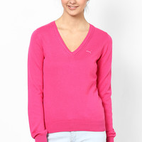 Fuchsia Cotton Sweater