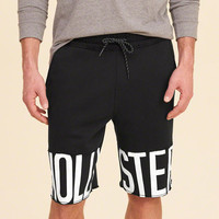 Guys Hollister Cali Longboard Fit Fleece Jogger Shorts | Guys New Arrivals | HollisterCo.com