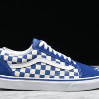 "HCXX OLD SKOOL ""PRIMARY CHECK"" - TRUE BLUE"