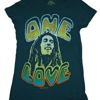 Bob Marley One Love Junior T-Shirt Officially Licensed