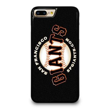 SAN FRANCISCO GIANTS 2 iPhone 4/4S 5/5S/SE 5C 6/6S 7 8 Plus X Case