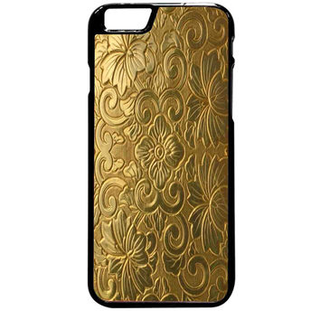 Vintage Cigarette Case Gold For iPhone 6 Plus Case *ST*