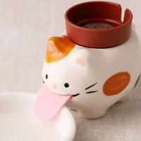 Peropon Cat Self Watering Wild Strawberry Planter | Urban Outfitters