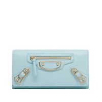 Balenciaga Classic Metallic Edge Money Maldives - Women's Wallet