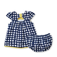 Gingham Duckie Dress with Bloomers