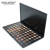 MISS ROSE Professional Colorful Palette 77 Color Professional Eyeshadow Palette Matte Shimmer Naked Eye Shadow Makeup For Women
