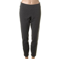 Marc New York Womens Stretch Heathered Pants