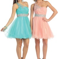 Homecoming Short Cocktail Prom Mini Dress