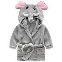 Gray Pajamas Cartoon Elephant Animal Costume