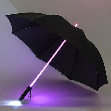 ONETOW Hot Sale LED Umbrella Star Wars Light Flash Night Multicolor