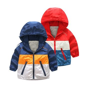 Baby Boys Winter Children Sports Casual Jacket