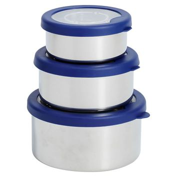 Stainless Steel Nesting Trio Lunch Containers