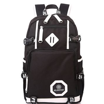 Classical Large Laptop Travel Bag Backpack for College Vintage Daypack School Bookbag