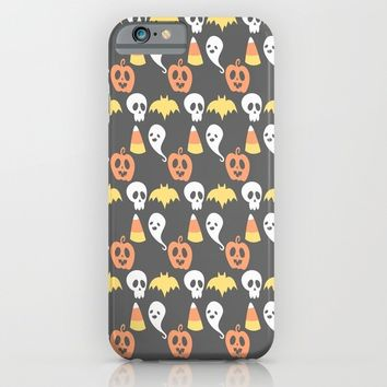 Adorable Halloween Pattern iPhone & iPod Case by Adorkible