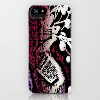Purple Delight iPhone & iPod Case by Stacy Frett