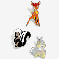 Disney Bambi Enamel Pin Set