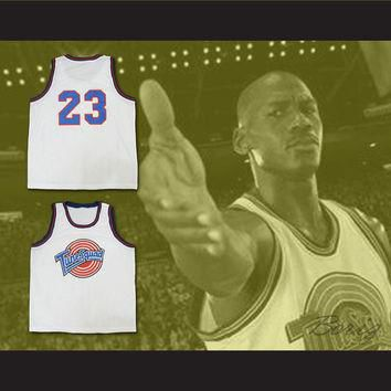 Michael Jordan Space Jam Tune Squad jersey ALL SEWN NO Print Duffy Bugs Any Size Name