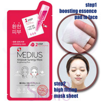 Medius Ampoule Synergy Mask (2 step) - Brightening *08/18*