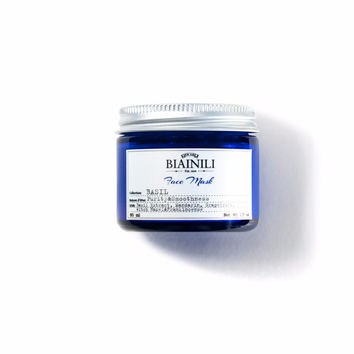 BASIL LEAFS PURIFYING FACE GEL MASK