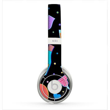 The Neon Party Drinks Skin for the Beats by Dre Solo 2 Headphones