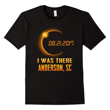 Anderson South Carolina Solar Eclipse 2017 Shirt