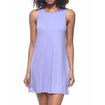 Slept til Noon Dress | Lilac