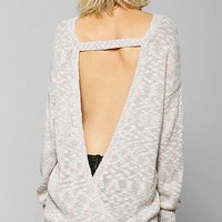 Pins And Needles Deep-V Back Sweater  - Urban Outfitters
