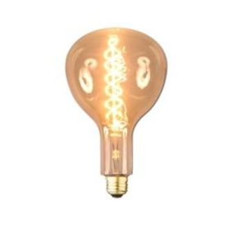 Swirl Filament -  Edison Antique Vintage Oversize Light Bulb- 1 Pack - Medium size  - 60 wattage - E26 - 3,000 hrs of life.  160 Lumens