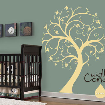 Nursery Tree Wall Decal - Tree Wall by WallConsilia