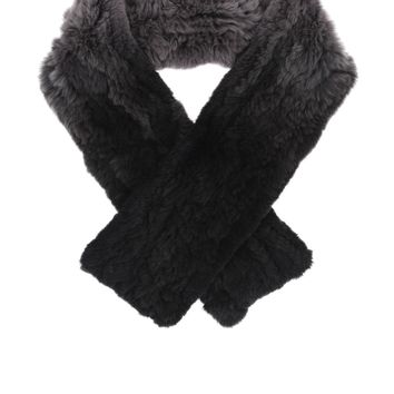 Ming Yang Fur Ombre Scarf