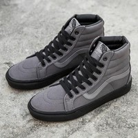 Trendsetter Vans SK8-Hi Reissue Black Outsole High-Top Canvas Sneakers Sport Shoes