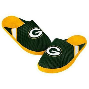 NFL Green Bay Packers Jersey Slippers [Men's X-Large - 13-14 US]