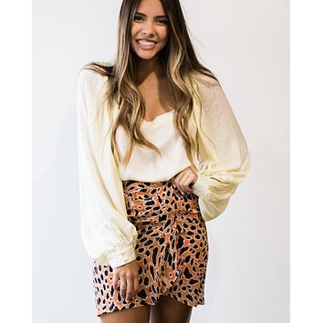 Jungle Print Skirt