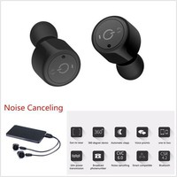 DCCKWA2 Wireless Bluetooth Headset Stereo Earbuds Handsfree Noise Canceling For Drivers