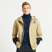 Slim Hooded Cardigan Jacket Coat