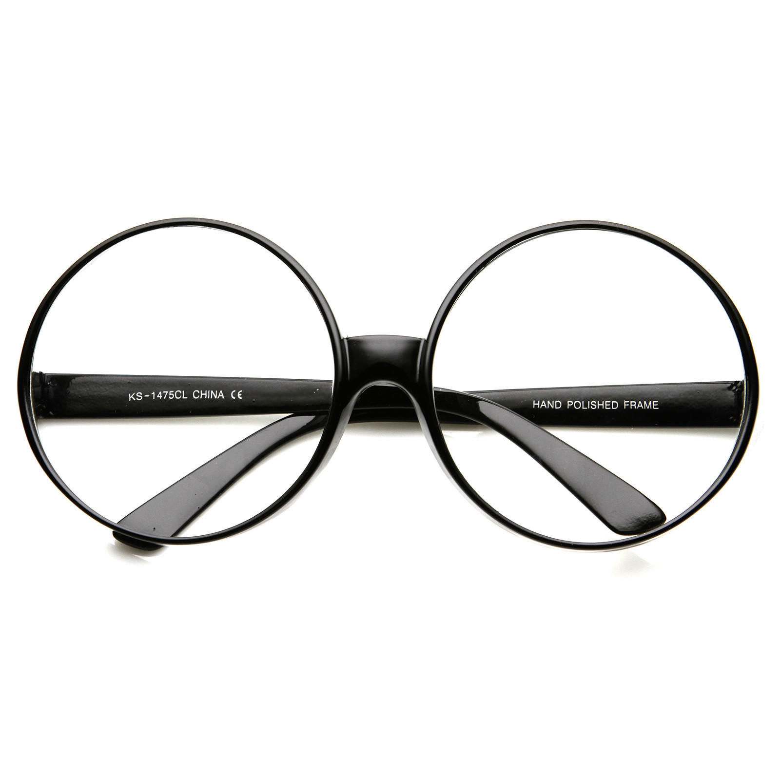 Home Decor Stores New Orleans Super Oversize Fashion Clear Lens Round From Zerouv Cosplay