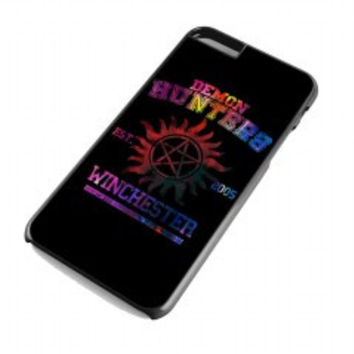 supernatural demon hunters galaxy for iphone 6 plus case