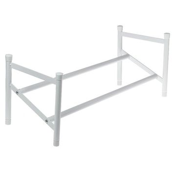 ClosetMaid® 811100 Epoxy Coated Steel Stack & Expanded Shoe Rack, 25'' - 45''